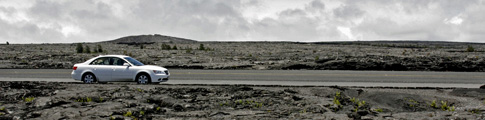 Volcano National Park, Lava Rock