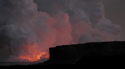 Volcano National Park, Night Lava Viewing