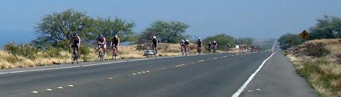 Hawaii Ironman 70.3  triathlon bike course